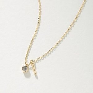 NWT   Anthropologie Postcard Charm Necklace